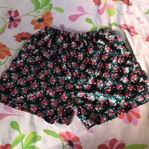Silky hearts and flowers boxers